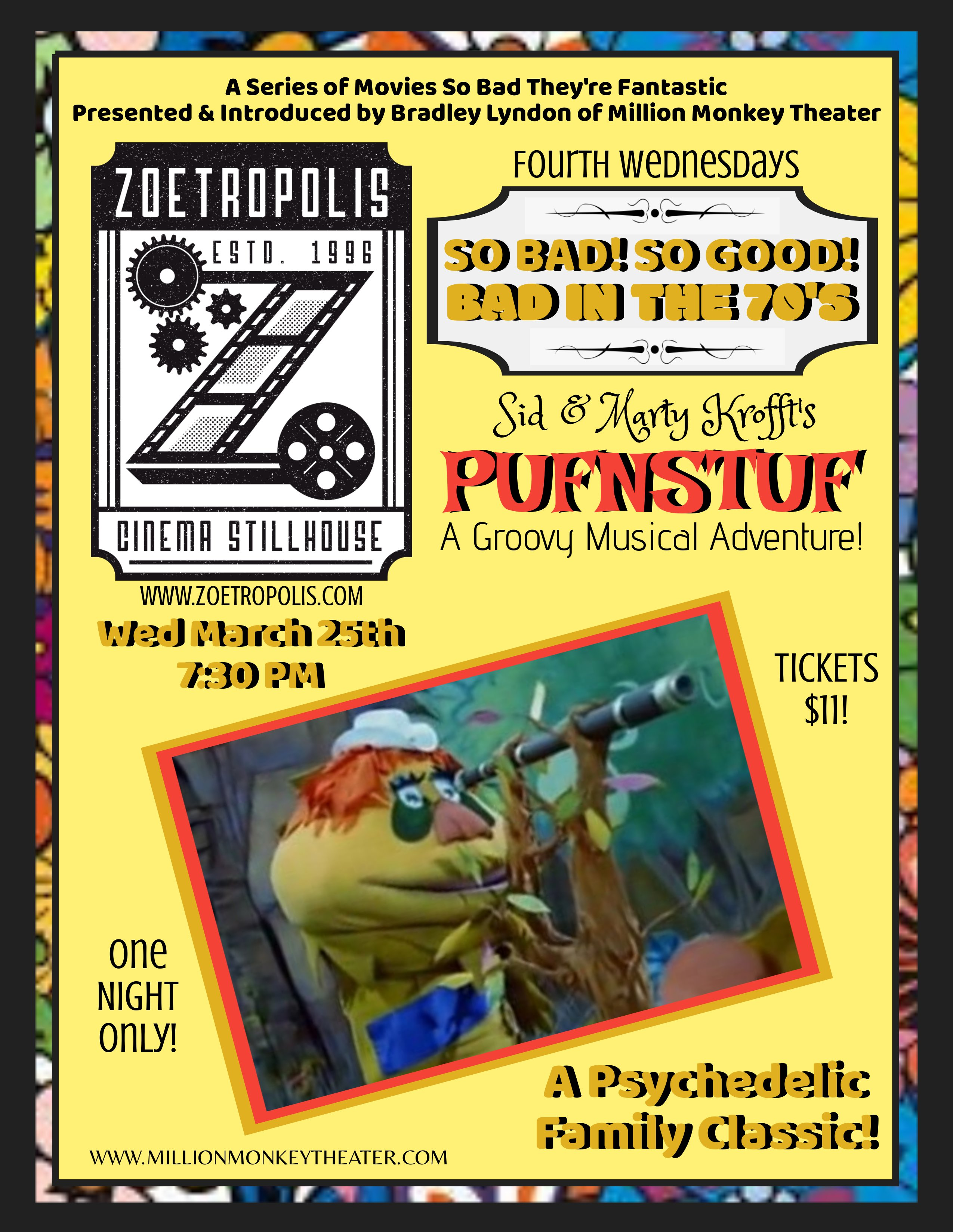 Poster for So Bad, So Good: Pufnstuf