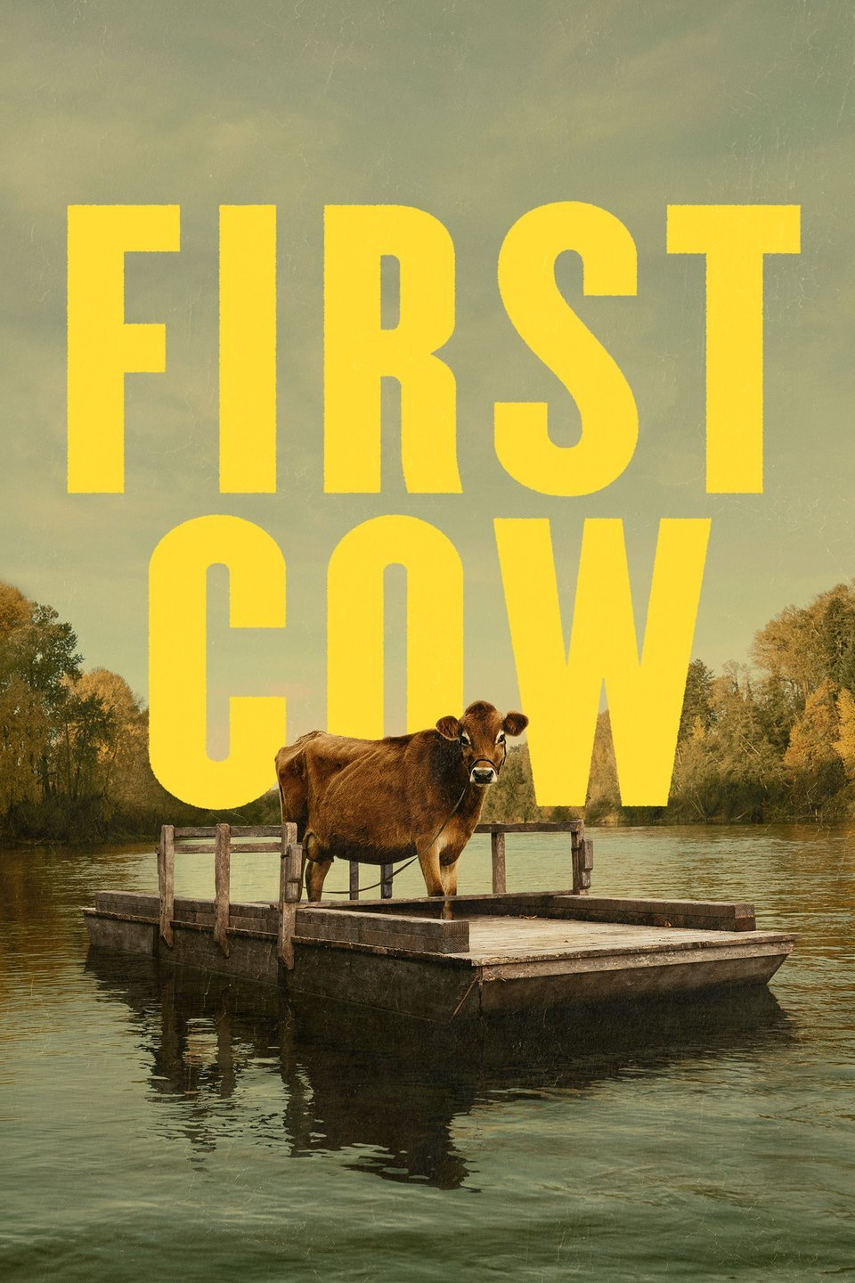 Poster for First Cow