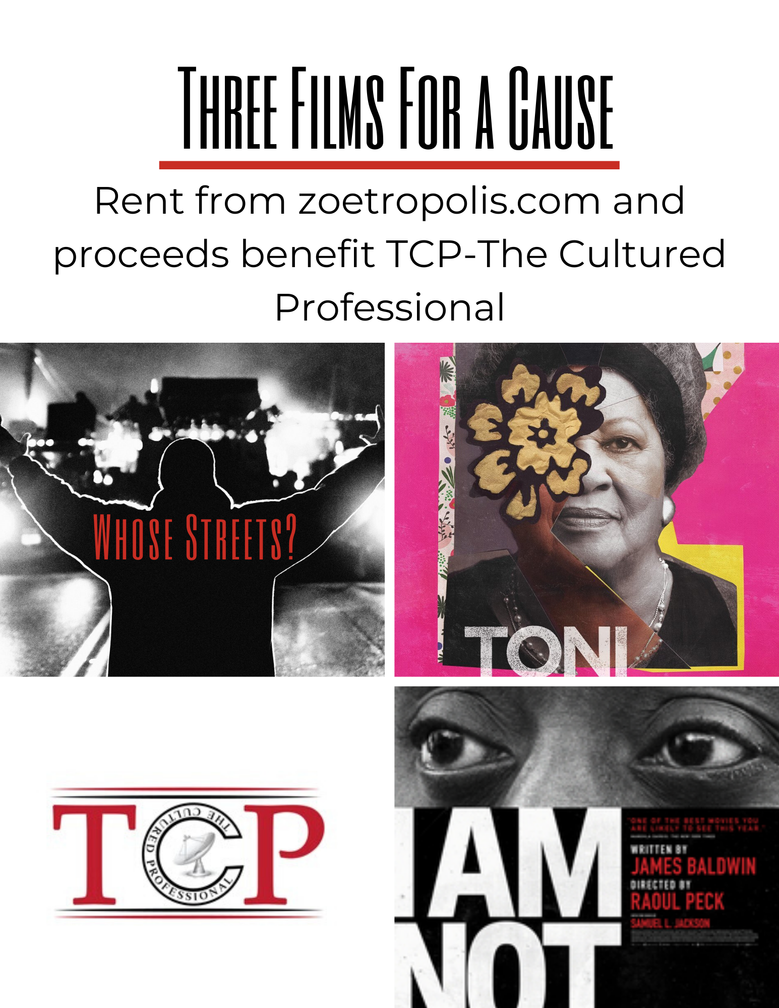3 Films For A Cause