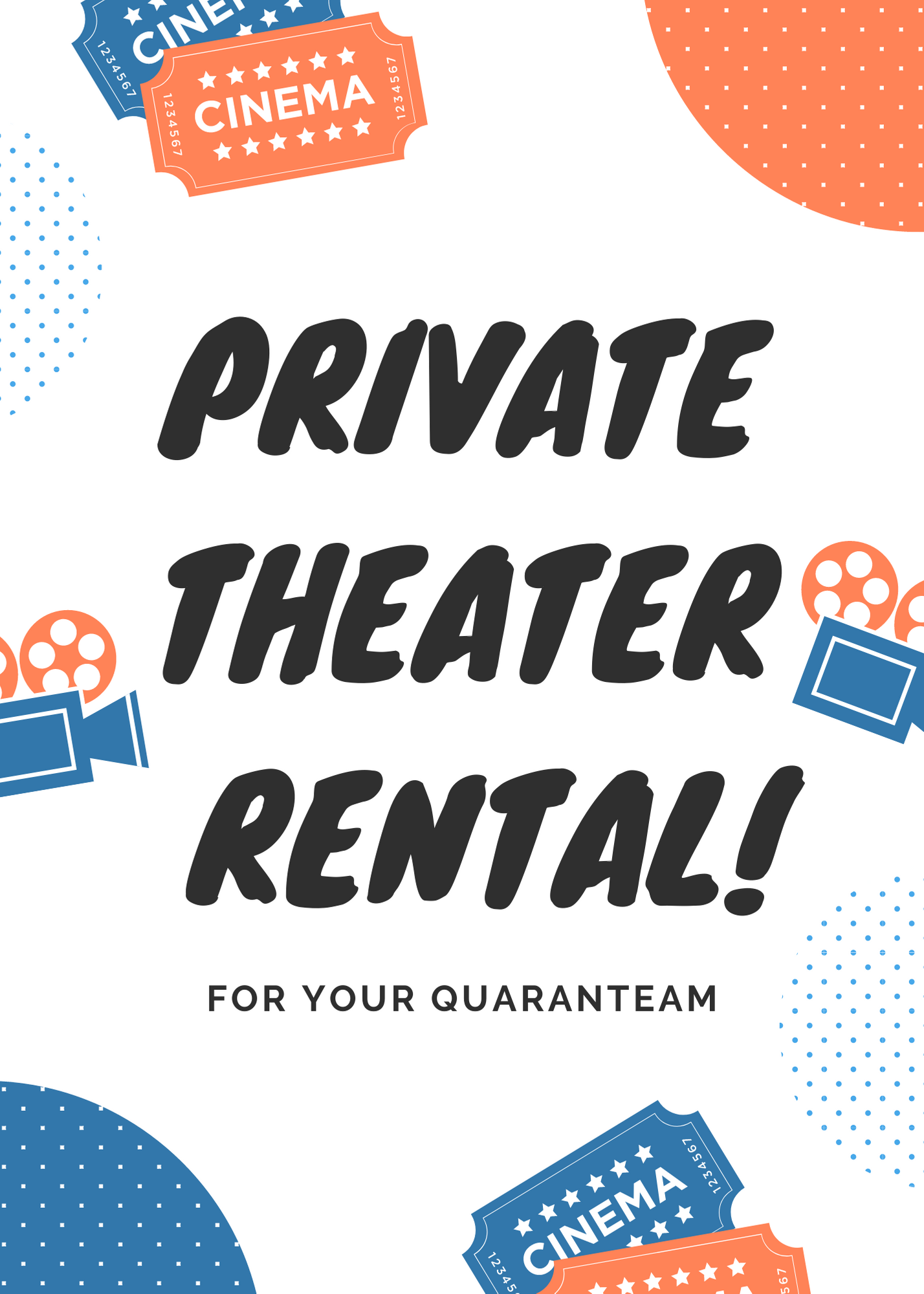 Poster for Private Theater Rental