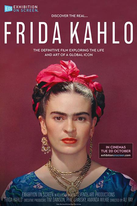 Poster for Frida Kahlo