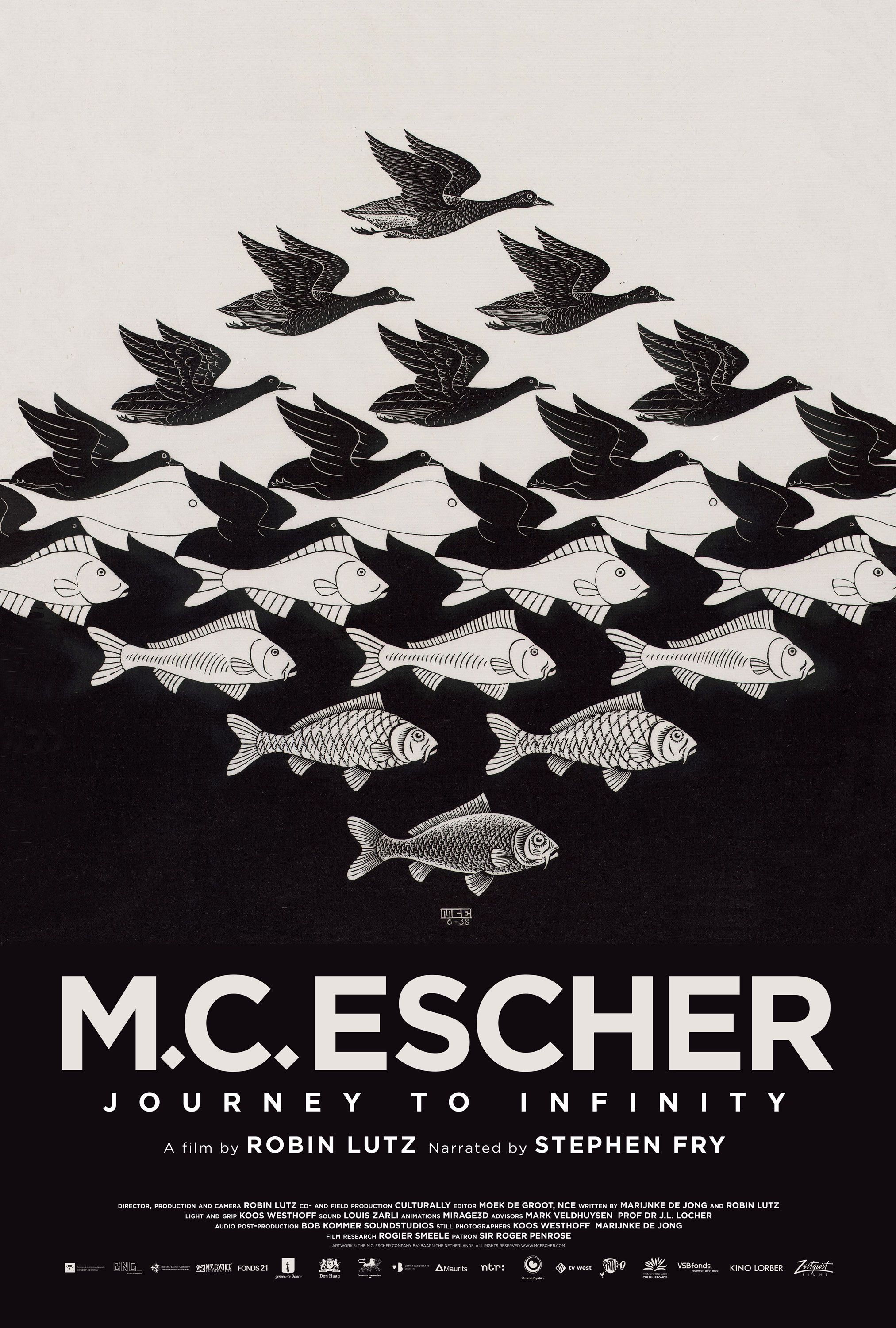 Poster for M.C. Escher: Journey To Infinity