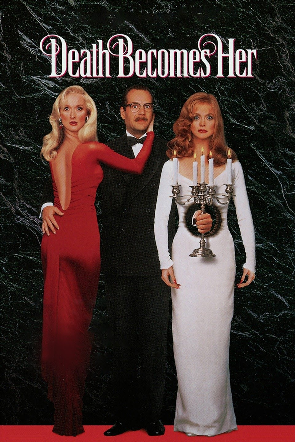 Poster for Philosophy-Drinks-Film (PDF): Death Becomes Her