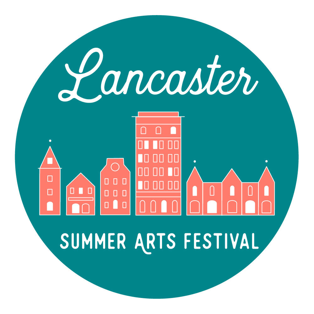 Poster for Lancaster Summer Arts Festival Free Jazz Concerts