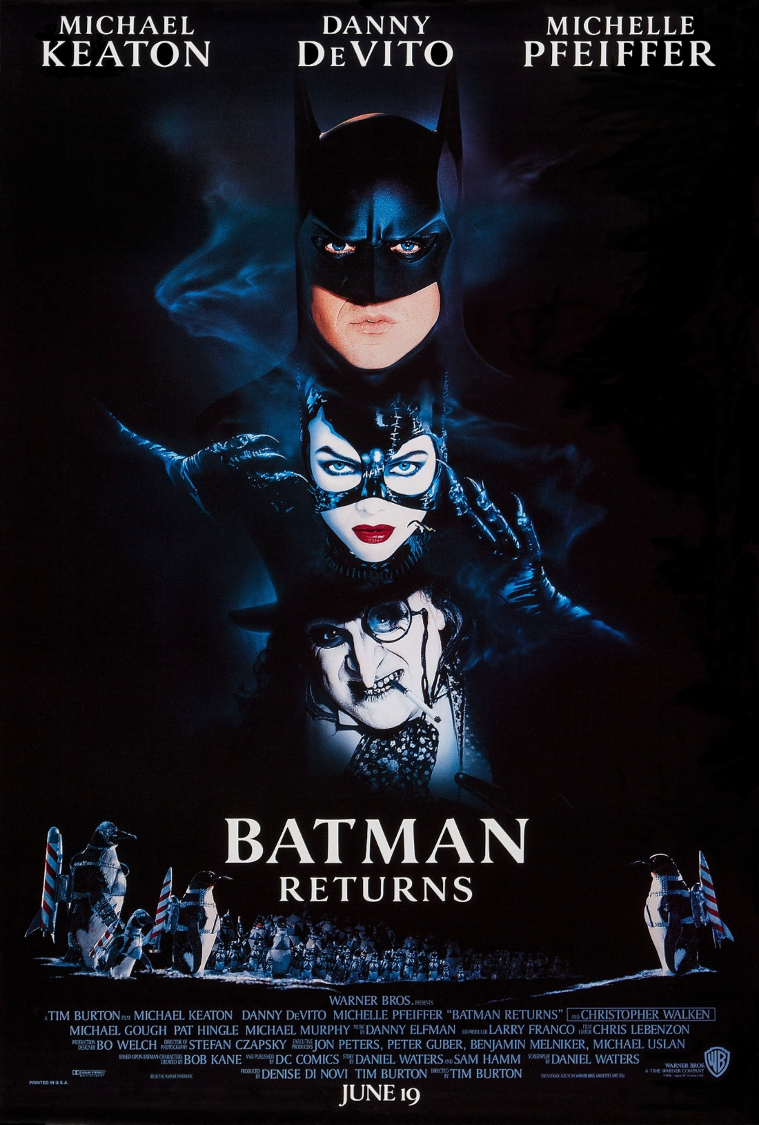 Poster for Carl's Movie Night: Batman Returns