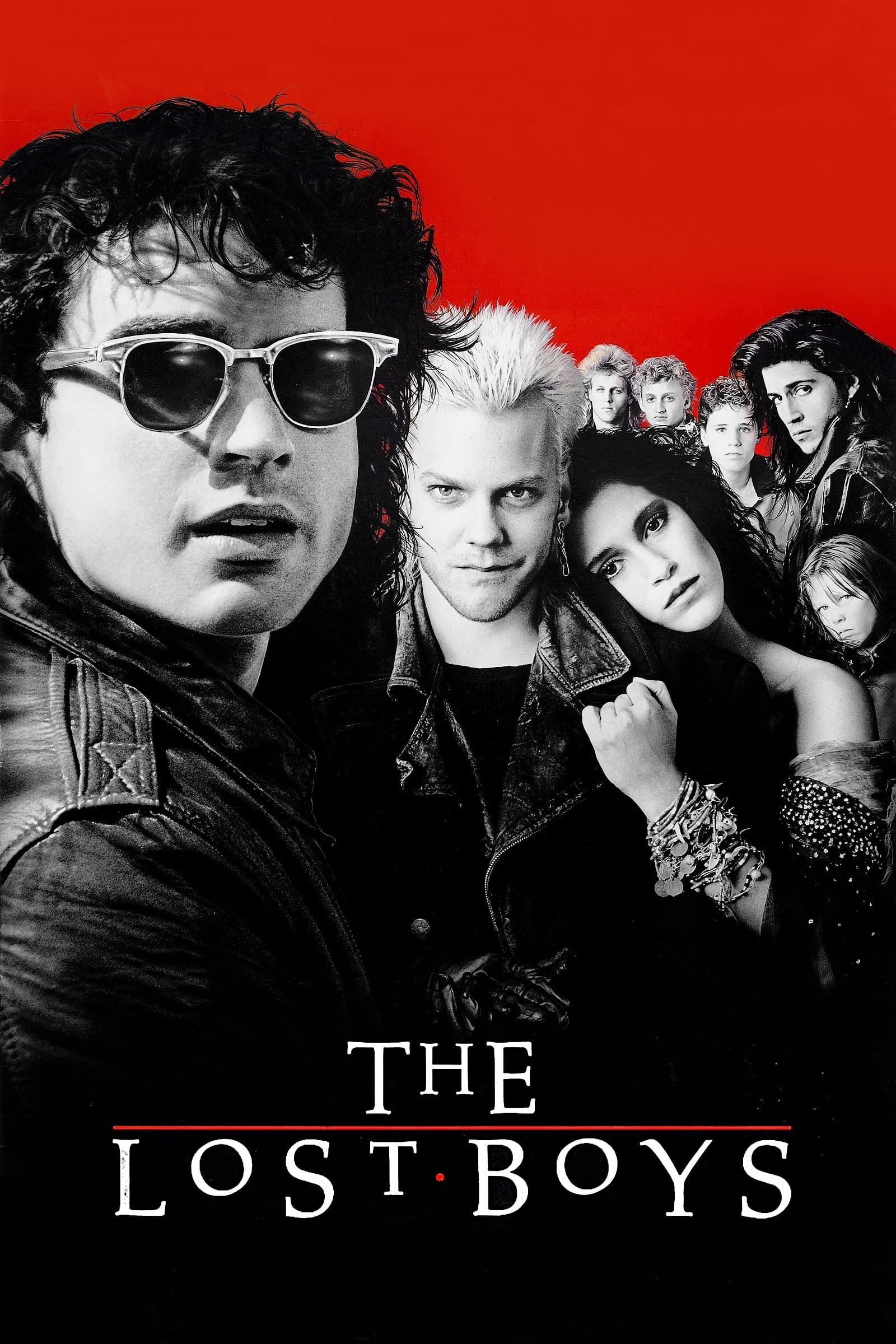Poster for The Lost Boys (Halloween Series)