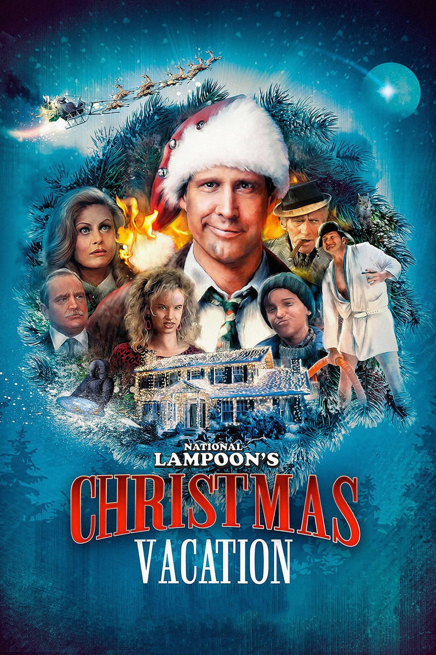 Poster for Carl's Movie Night: National Lampoon's Christmas Vacation (Carl's Movie Night)
