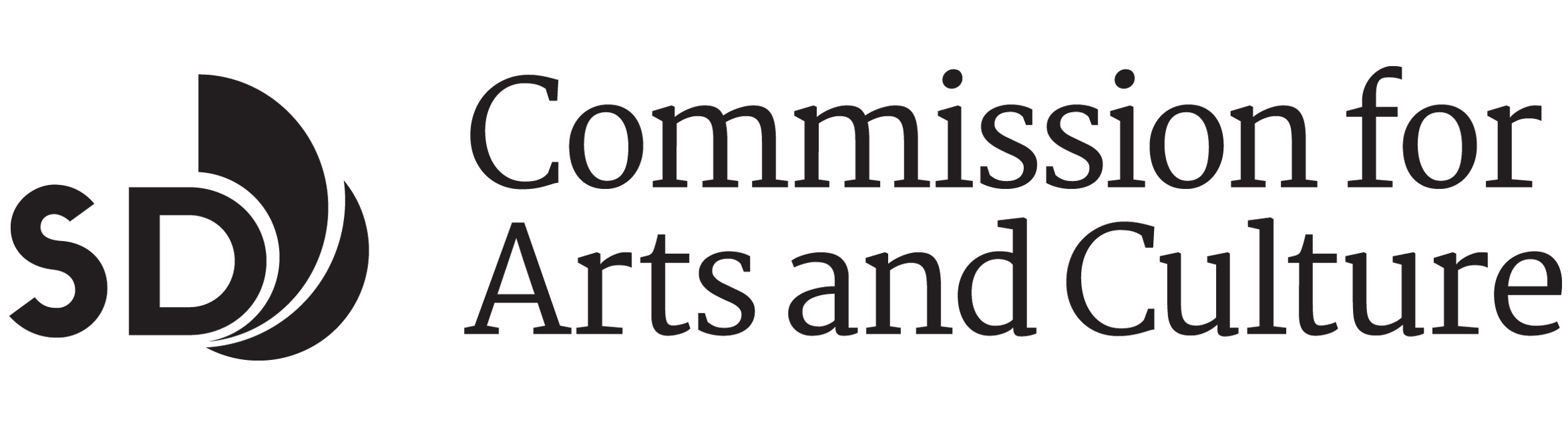 Commission for Arts and Culture logo