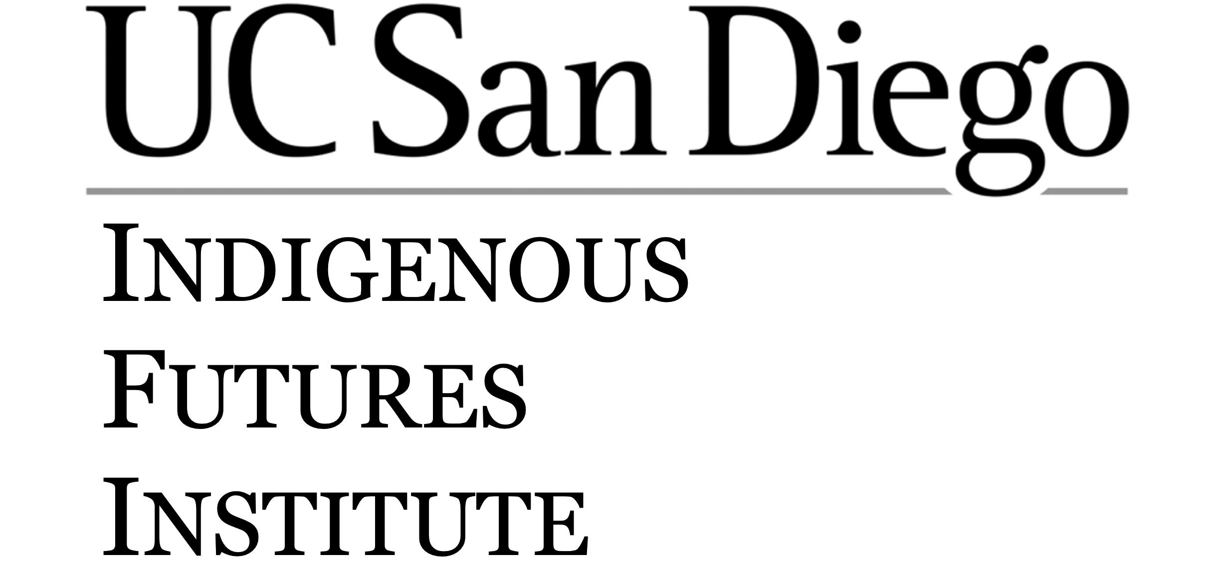 UC San Diego Indigenous Futures Institute logo