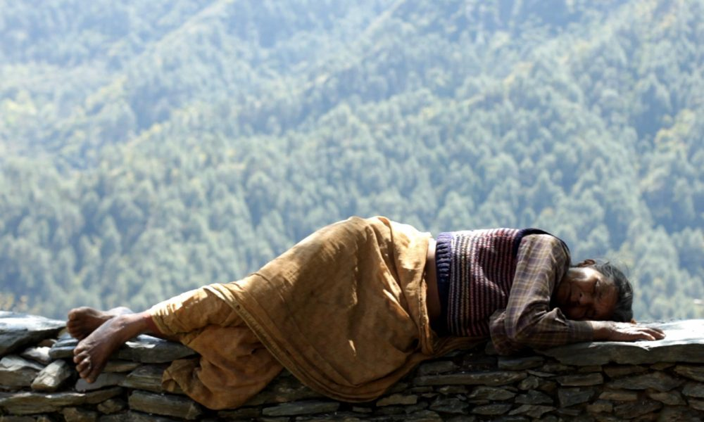 Film still from Ek Tha Gaon (Once Upon A Village)