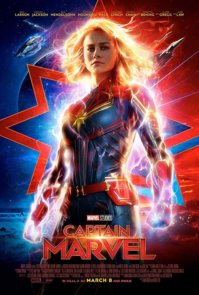Poster for Captain Marvel (2D)