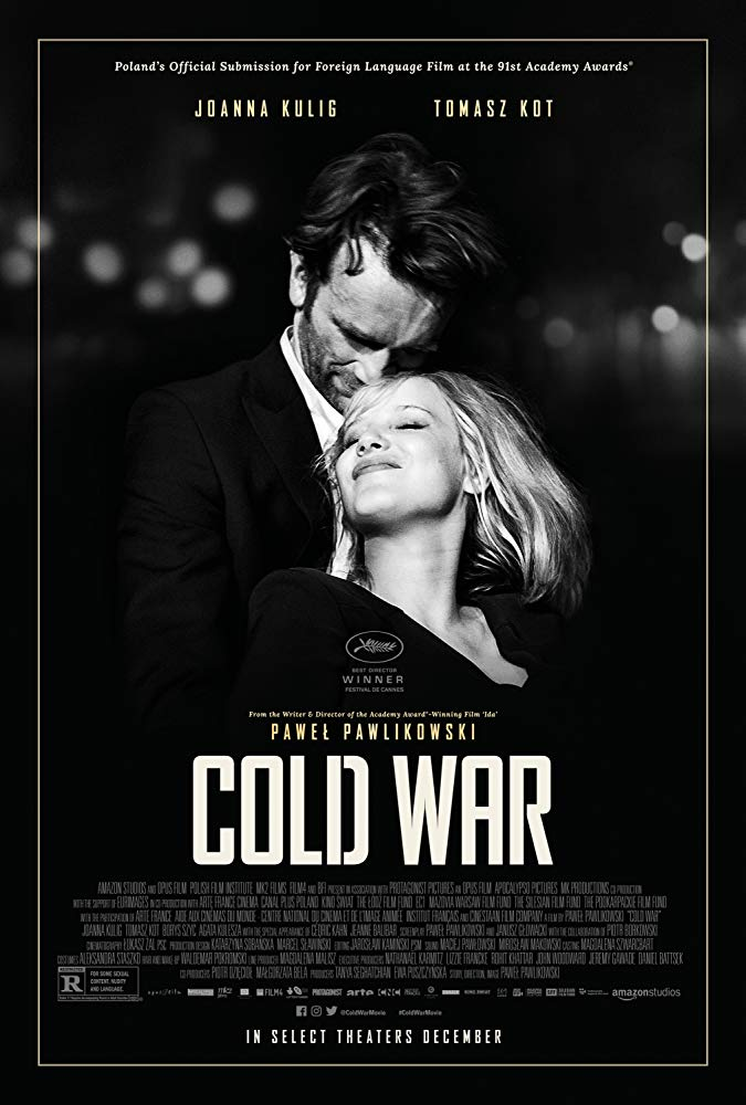 Poster for Cold War