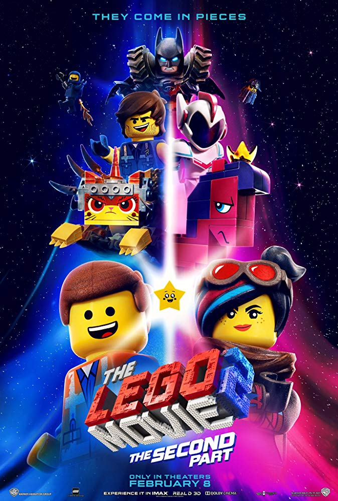 Poster for The Lego Movie 2: The Second Part