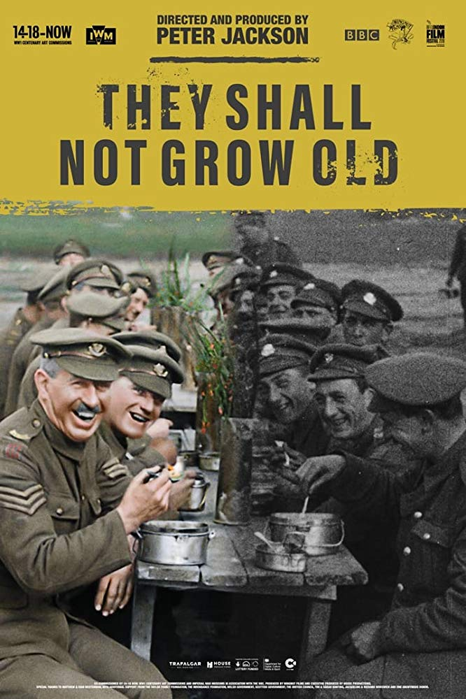 Poster for They Shall Not Grow Old