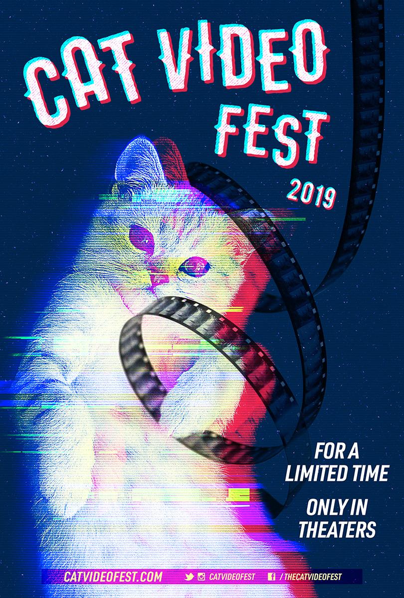 Poster for CatVideoFest 2019