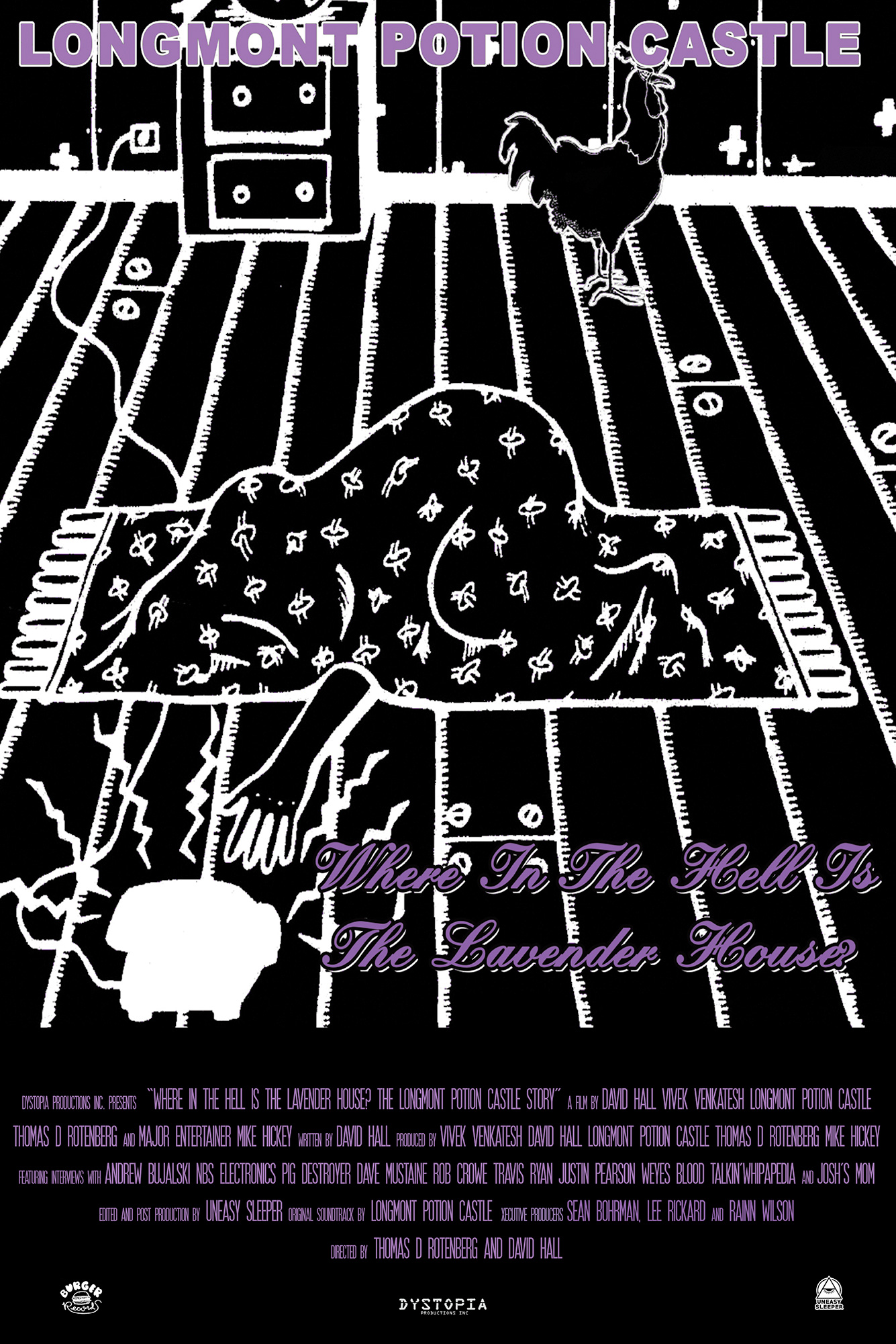 Poster for Where In The Hell Is The Lavender House: The Longmont Potion Castle Story