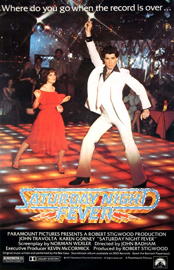 Poster for Saturday Night Fever