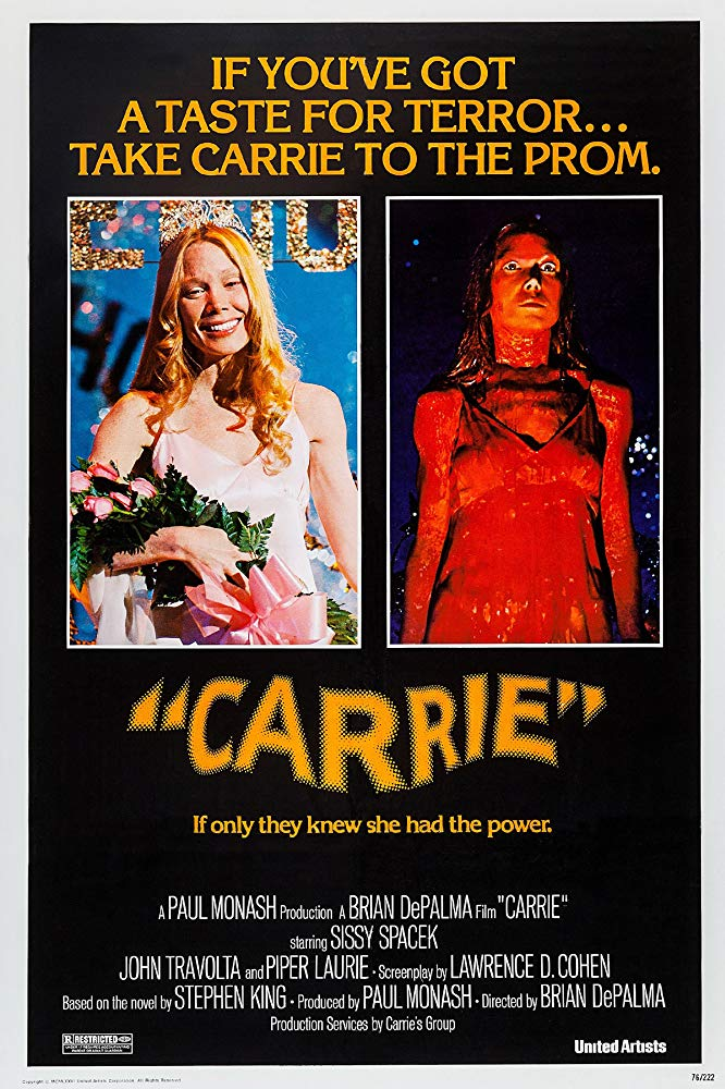 Poster for Carrie