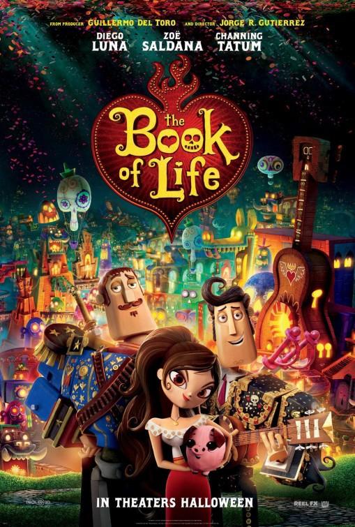 Poster for The Book of Life (Live music preshow by MARIACHI ESTRELLA JUVENIL)