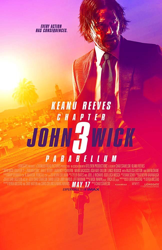 Poster for John Wick: Chapter 3 – Parabellum