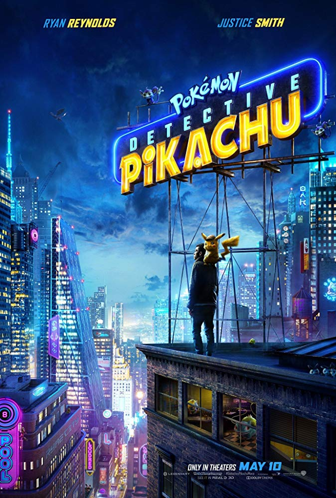 Poster for Pokémon Detective Pikachu