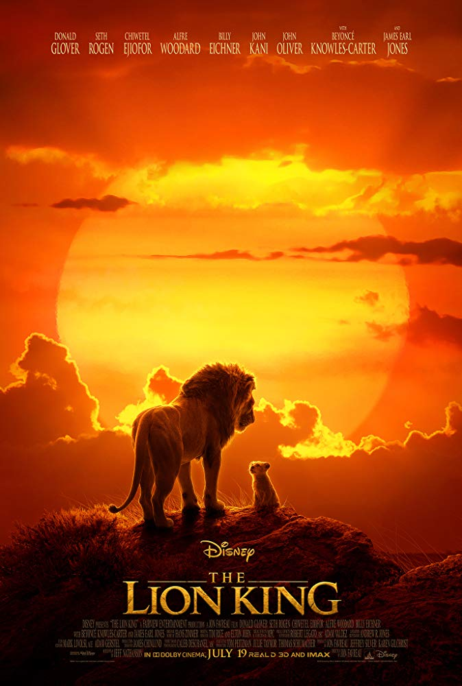 Poster for The Lion King (2019)