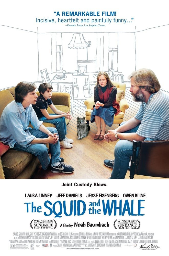 Poster for The Squid and the Whale
