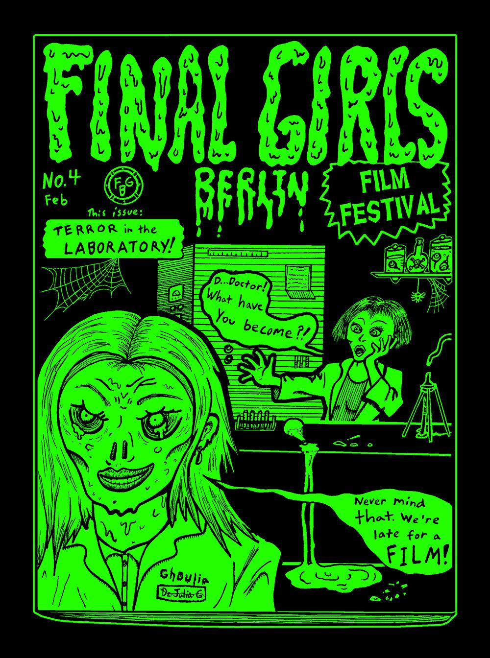 "Poster for Final Girls Berlin ""Best of the Fest 2019"""