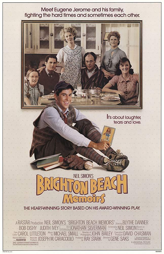 Poster for Brighton Beach Memoirs
