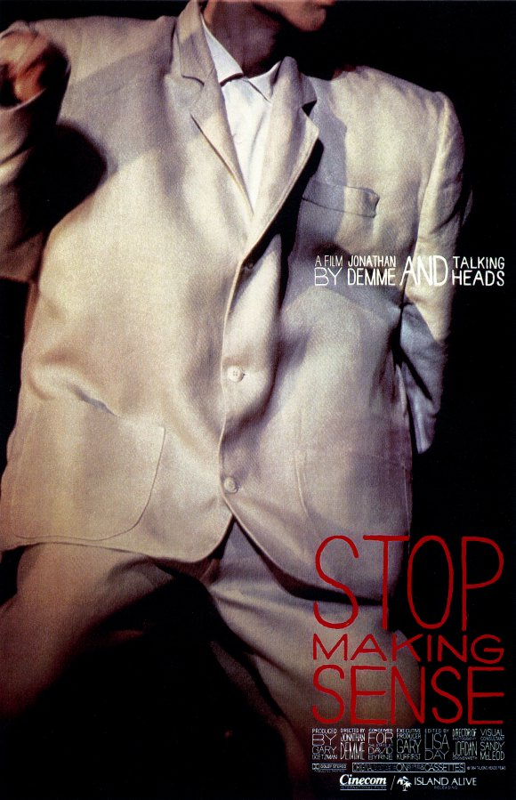 Poster for Stop Making Sense