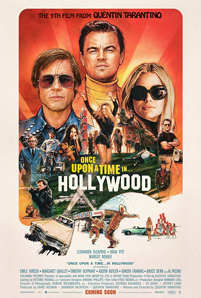 Poster for Once Upon a Time in… Hollywood (DCP)