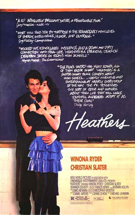 Poster for Heathers (A Film Feast Presentation)