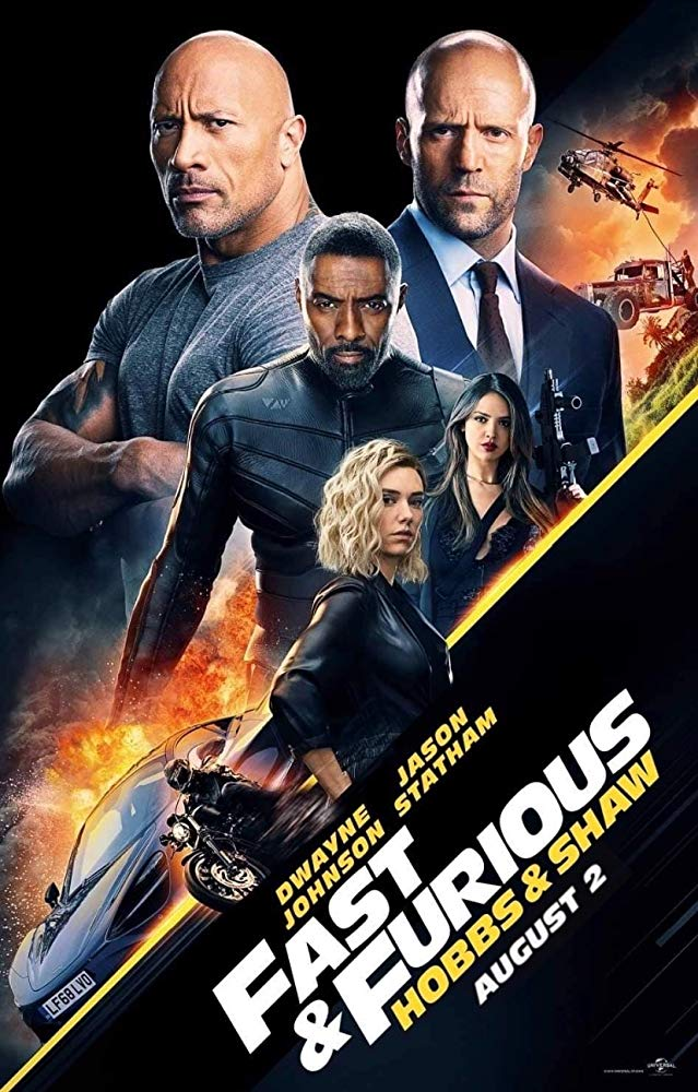 Poster for Fast & Furious Presents: Hobbs & Shaw