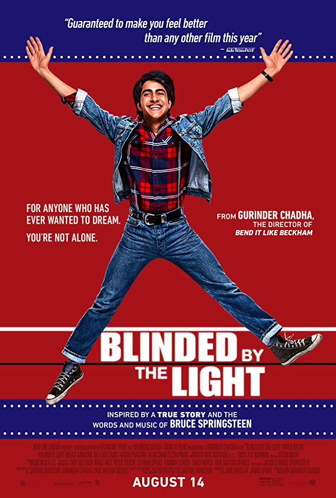 Poster for Blinded by the Light
