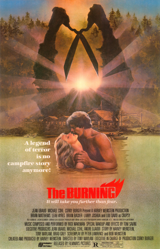 Poster for The Burning