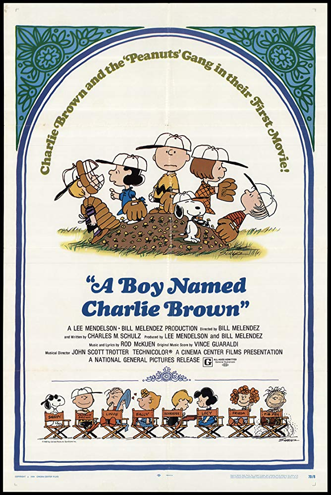 Poster for A Boy Named Charlie Brown