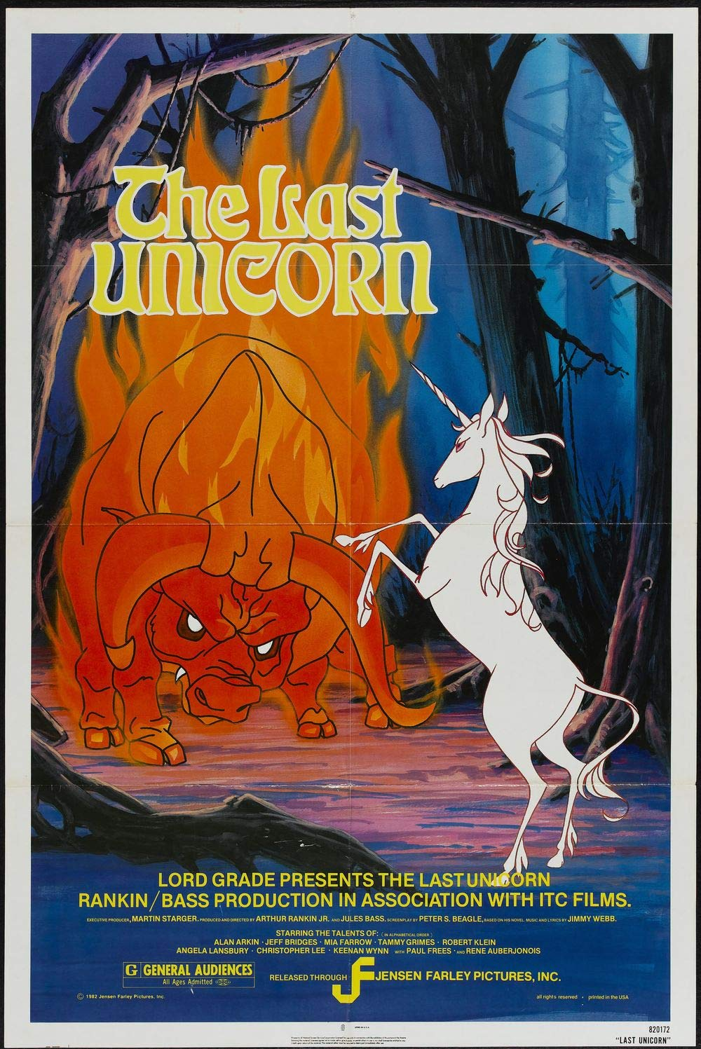 Poster for The Last Unicorn