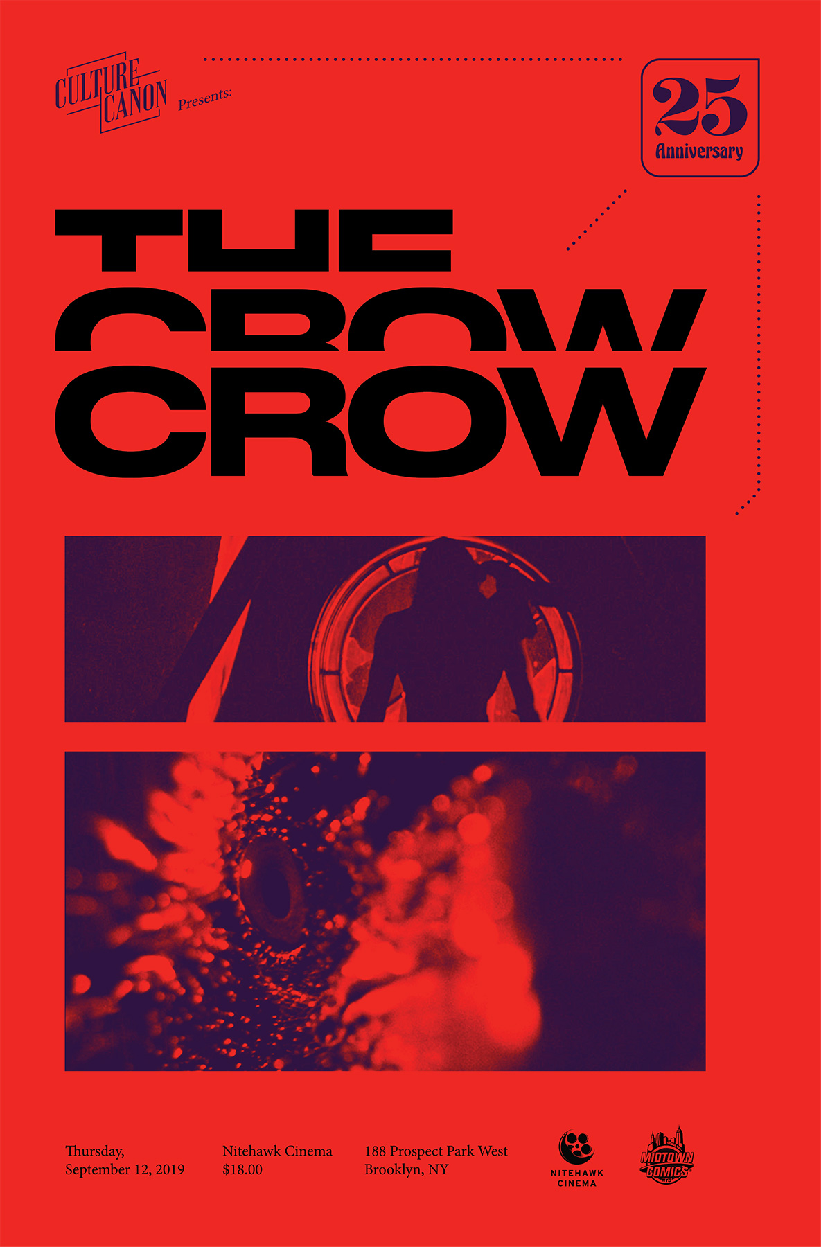 Poster for The Crow (Q&A with Bruce Lee biographer Matthew Polly)