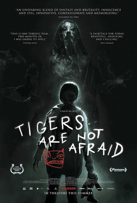 Poster for Tigers Are Not Afraid