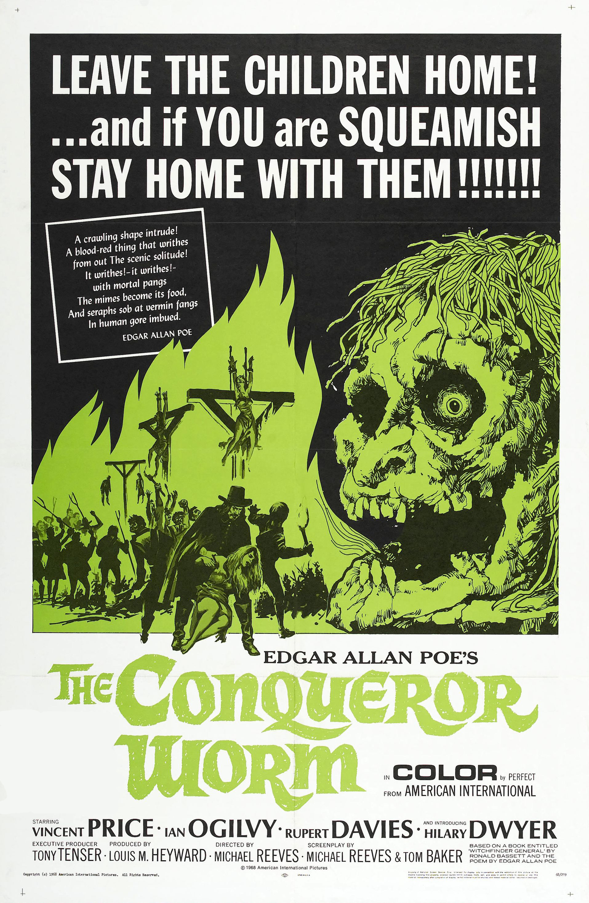 Poster for Witchfinder General (aka The Conqueror Worm)