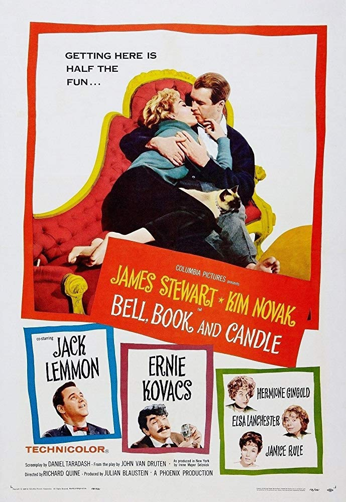 Poster for Bell, Book and Candle