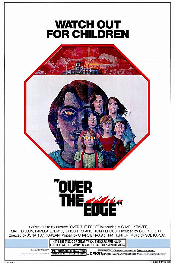 Poster for Over the Edge (Q&A with screenwriter Tim Hunter, actors Michael Kramer & Tom Fergus)