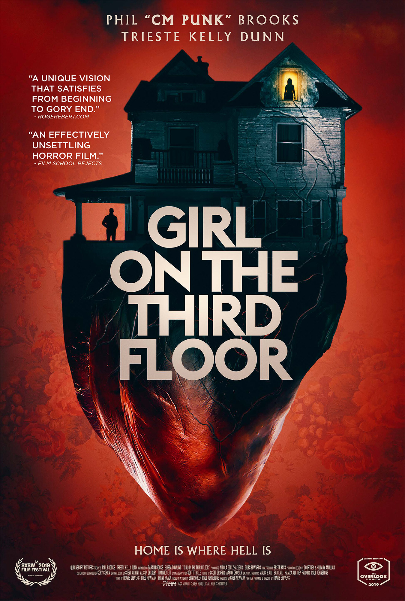 Poster for Girl on the Third Floor