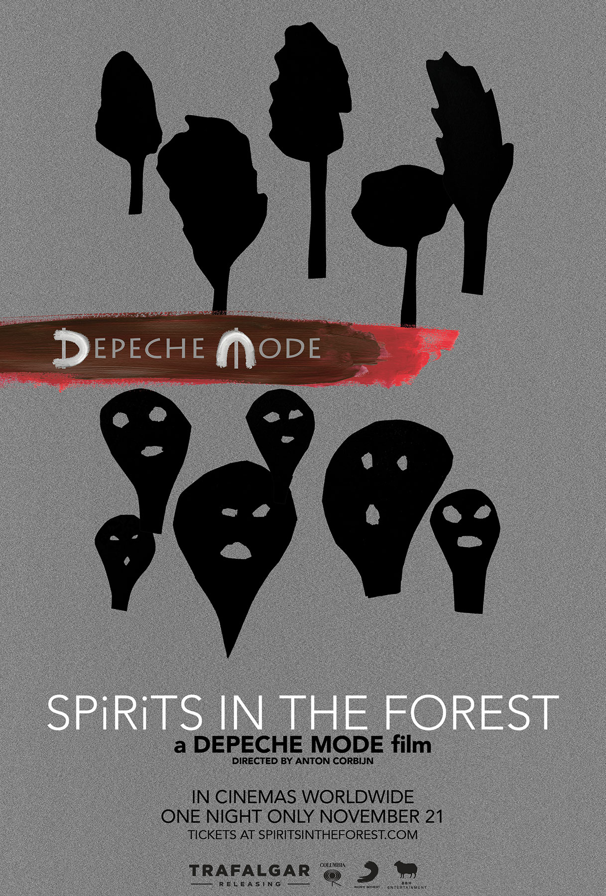 Poster for Depeche Mode: SPIRITS in the Forest