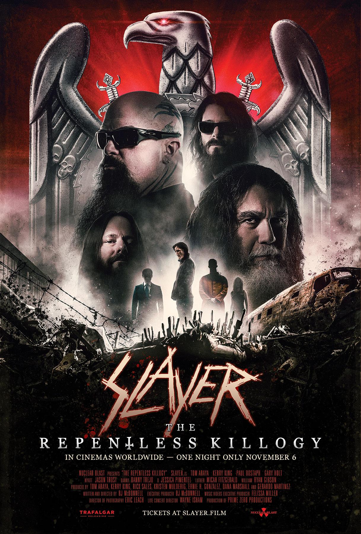 Poster for Slayer: The Repentless Killogy