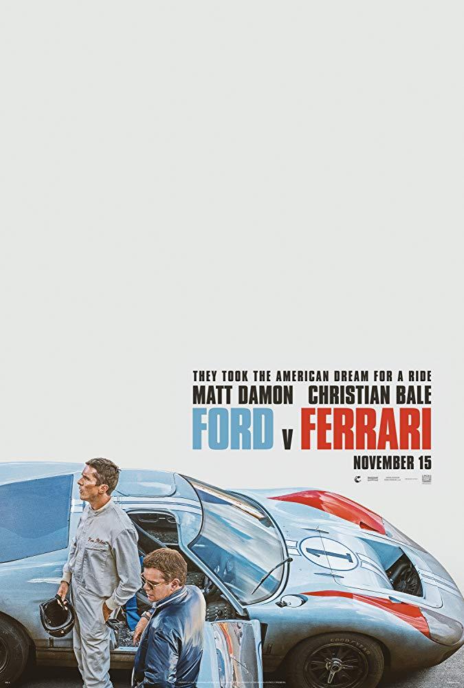 Poster for Ford v Ferrari