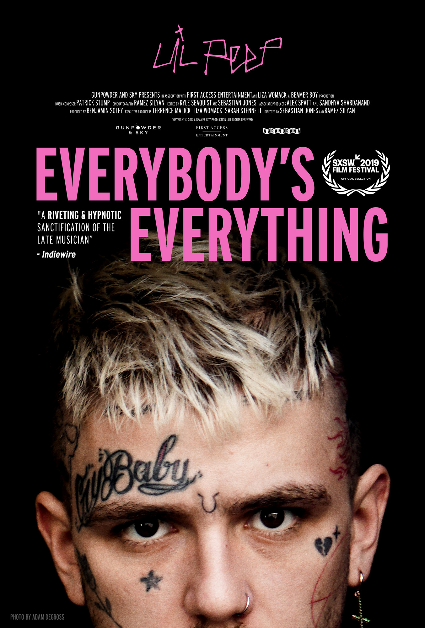Poster for Everybody's Everything