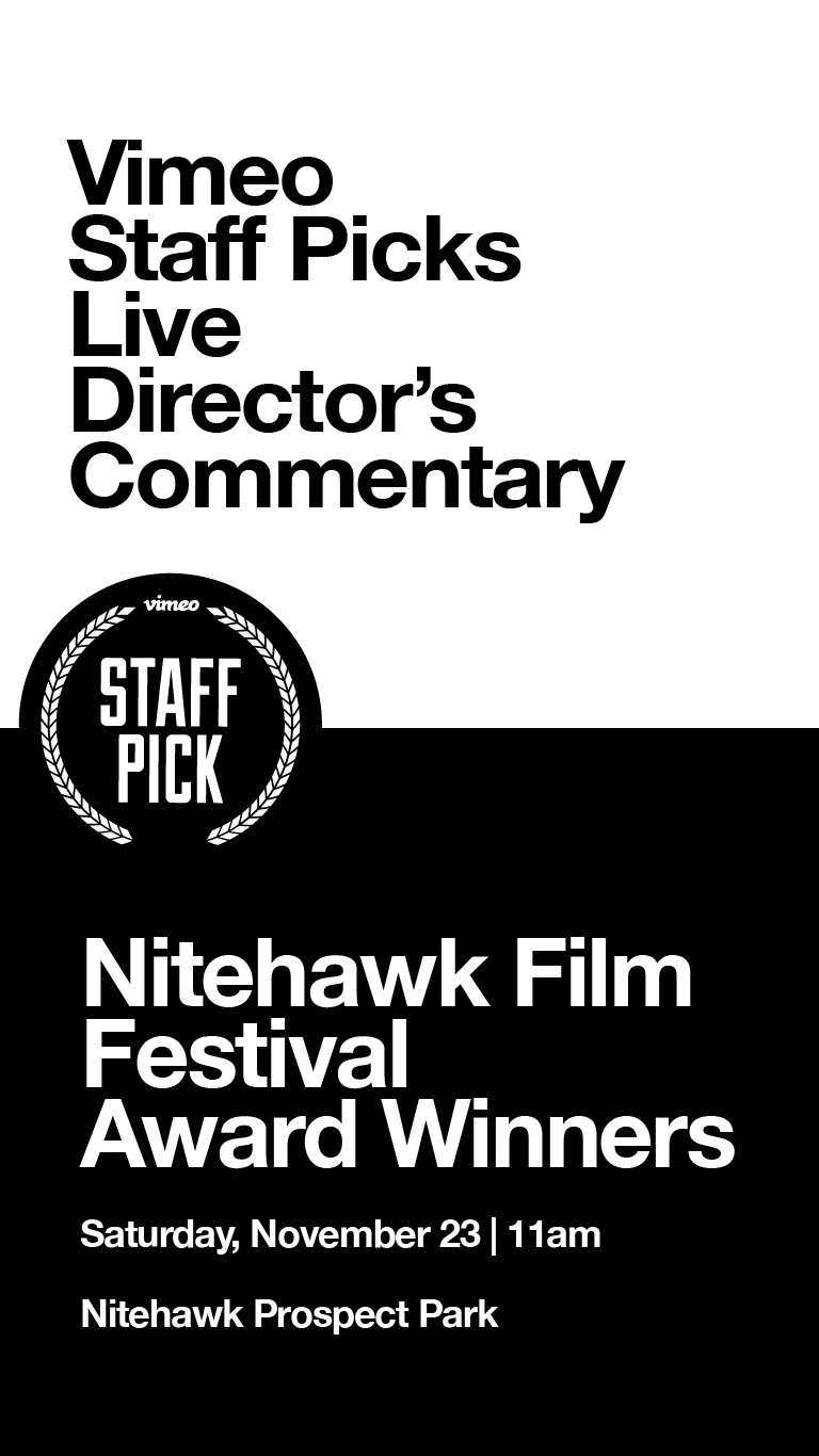 Poster for Vimeo NSF19 Award Winners with Live Director's Commentary