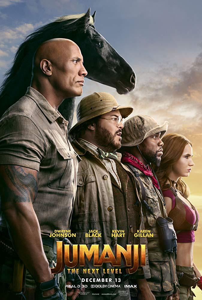 Poster for Jumanji: The Next Level