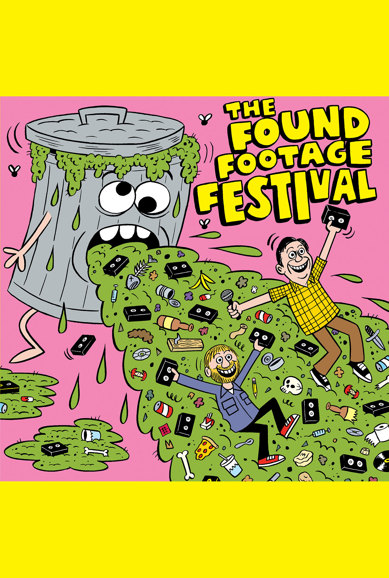 Poster for Found Footage Festival's Christmas Special